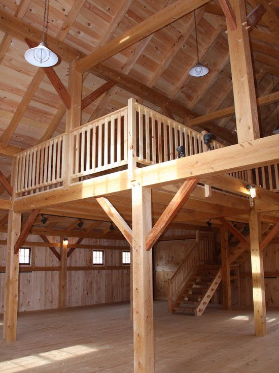 Barn Style Loft Amazing Home Pinterest Barn And