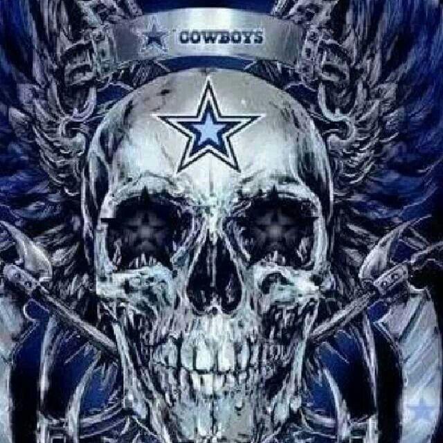 Dallas Cowboys Evil Skull Wallpaper