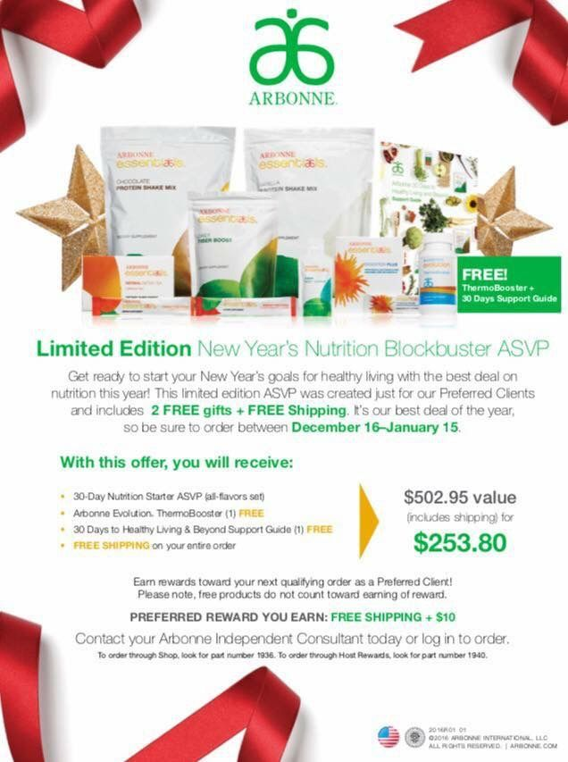 Arbonne 30 Days Healthy Living Recipes