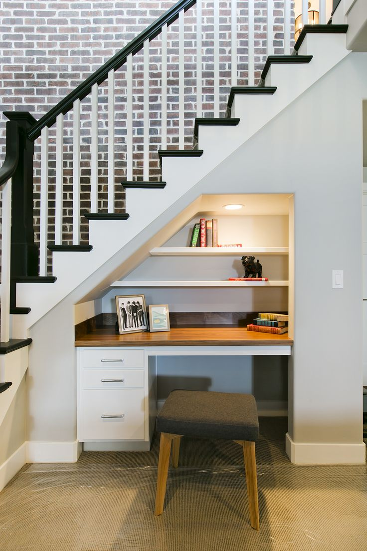 Office Built Area Below Stairs