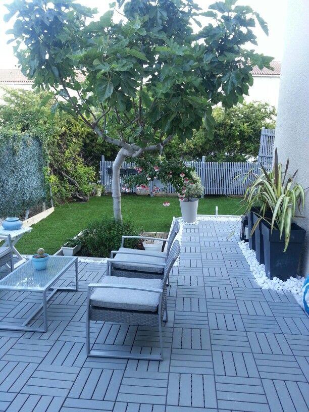 Raised Garden Decking
