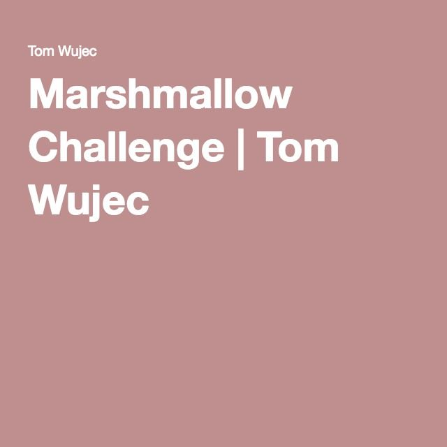 Ted Marshmallow Exercise