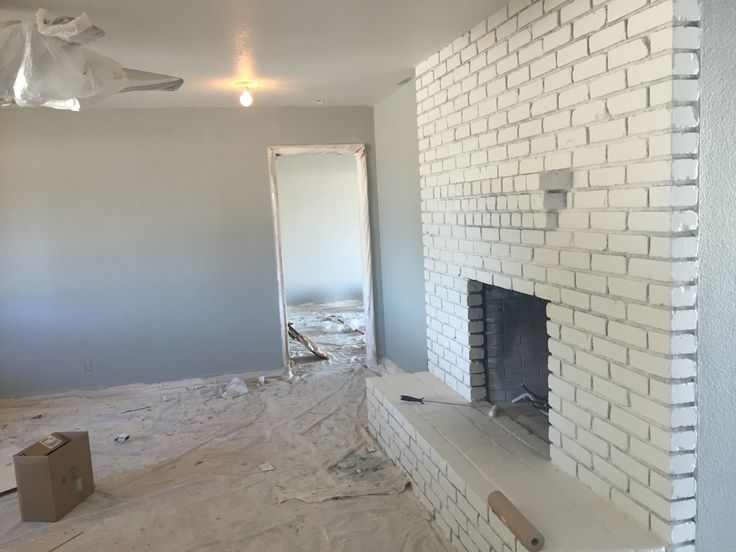 Home In Progress Loving The Paint Colors Magnetic Gray