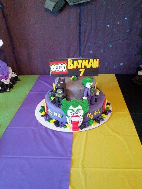 Lego Batman Joker Cake Boy Birthday Ideas Pinterest