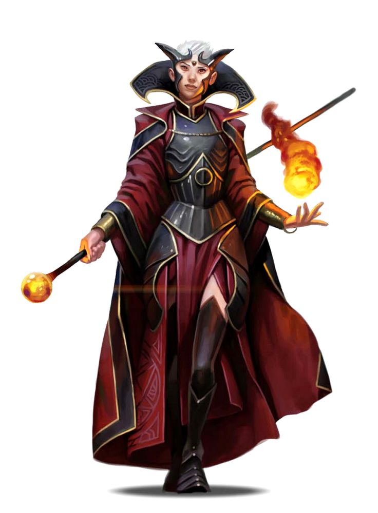 Female Elf Pathfinder Wizard