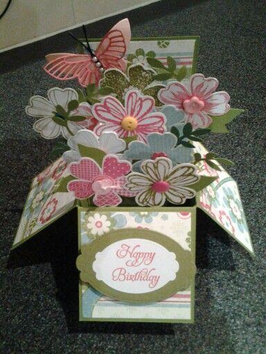 Envelope Explosion Box Stampin
