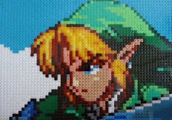 Legend Templates Link Art Zelda Pixel