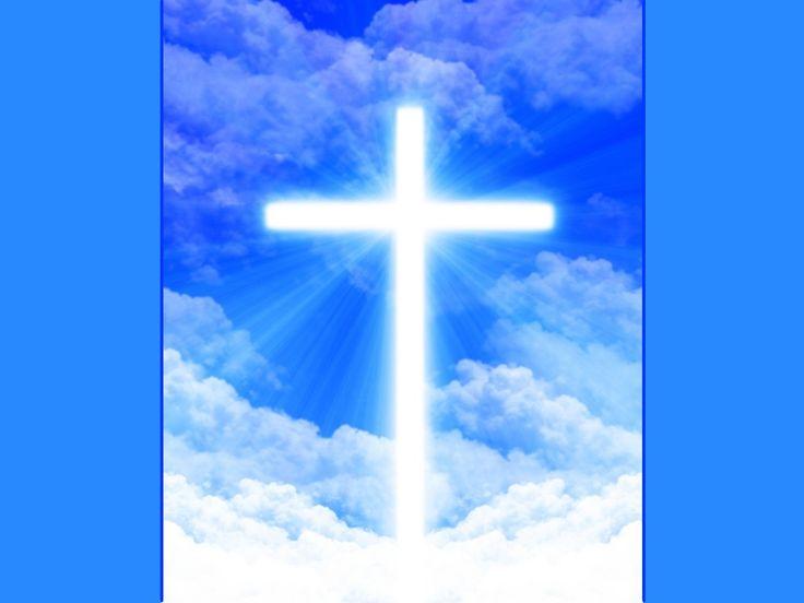 Jesus Looking Down Earth