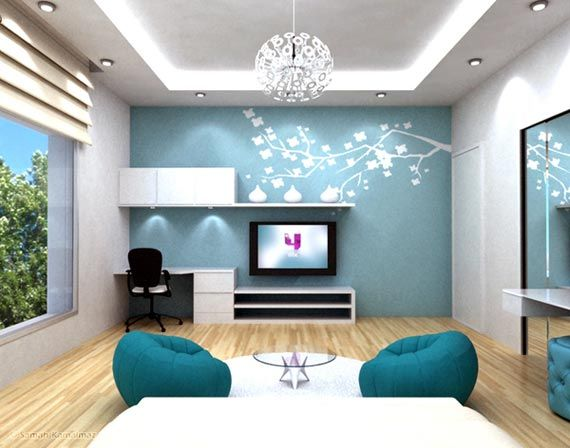 Blue Bedrooms For Teenage Girls Extra Ordinary Blue