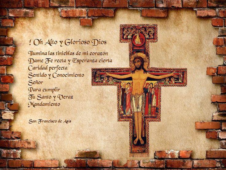 Oracion Francisco De Asis Pequeno De El La San