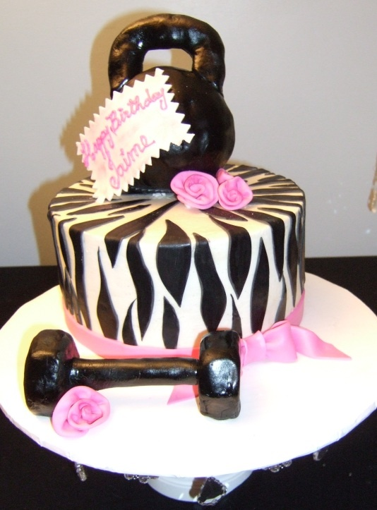 Gym Cake Love It 50th Birthday Party Ideas Pinterest
