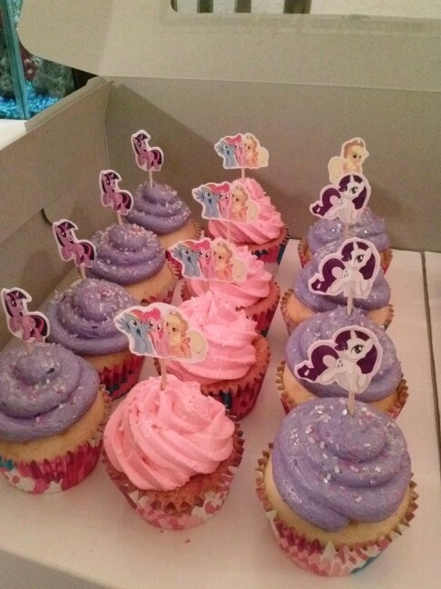My Little Pony Cupcakes Party Ideas Pinterest My
