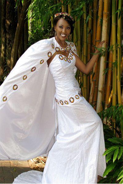 Kenyan Wedding Attire