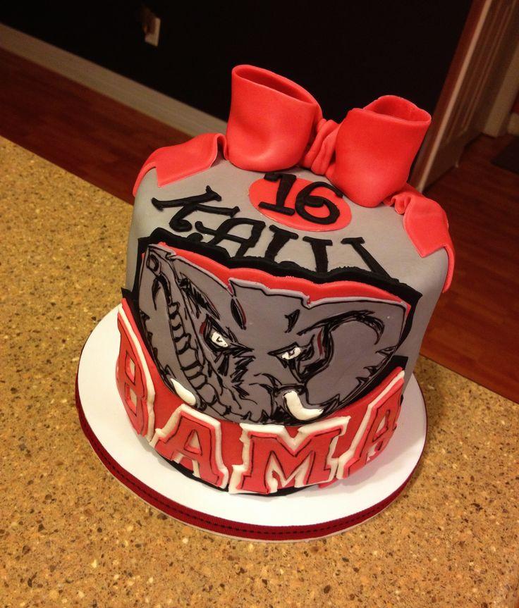 University Alabama Birthday Cakes
