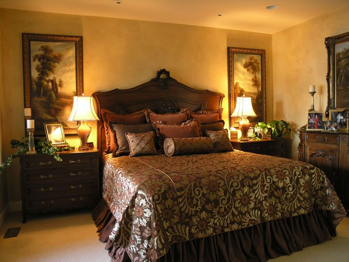 Tuscan Bedrooms Decorating