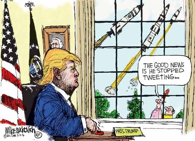 Trump About Cartoon Polls Tweeting