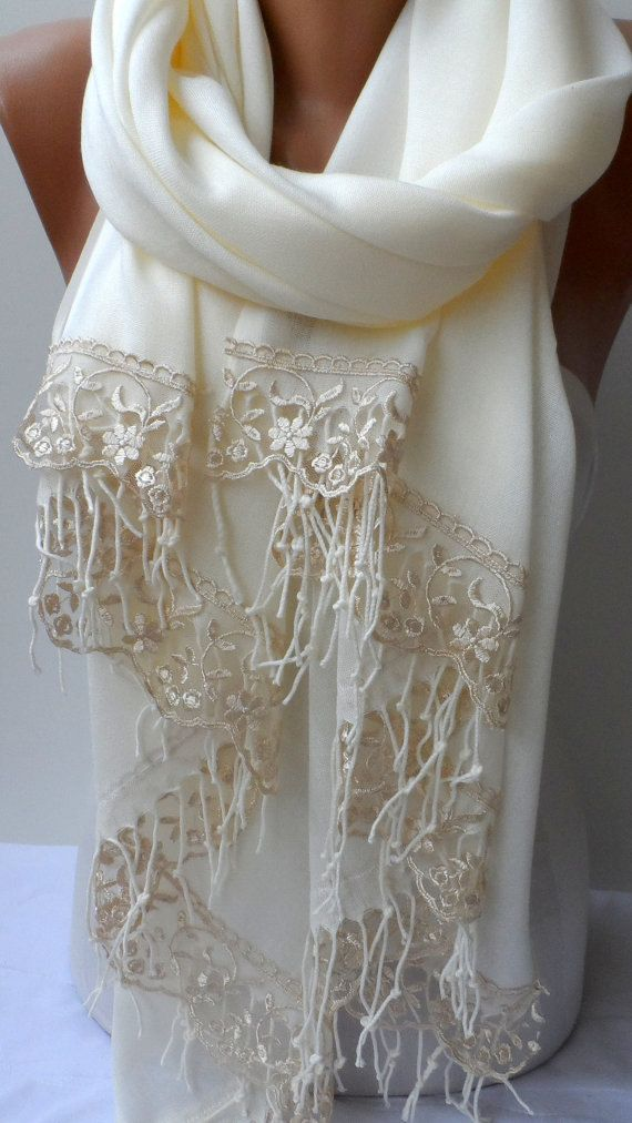 Fall Wedding Shawl