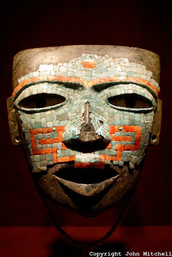 Mascara De Malinaltepec A Mosaic Mask From Guerrero