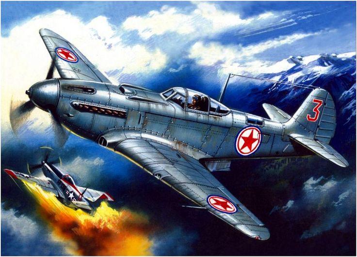 Vintage War Planes Art