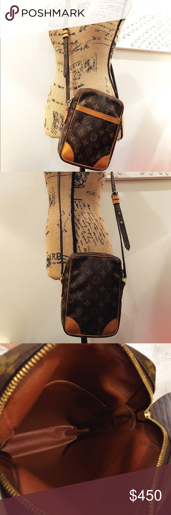 Multicolor Leather Crossbody Wallet