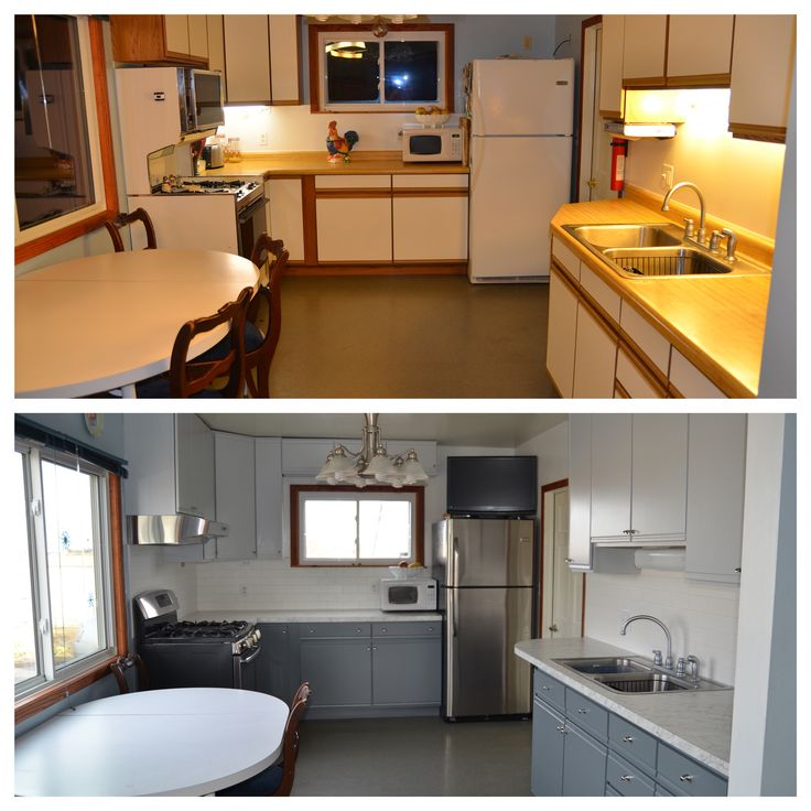 Painting Over Formica Cabinets