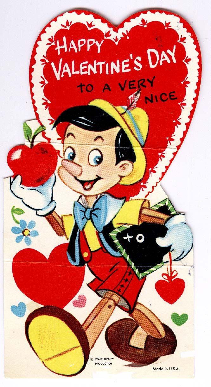 1000+ images about Vintage Disney Valentine's on Pinterest