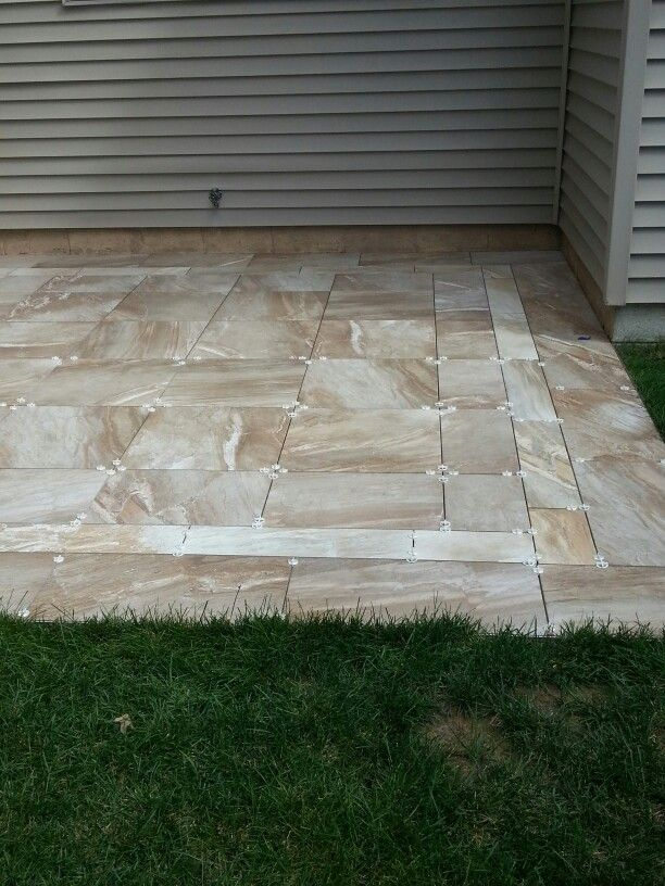 Exterior Tile Patio