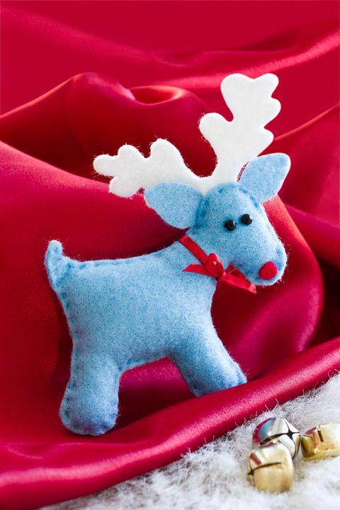 Reindeer Christmas Felt Templates
