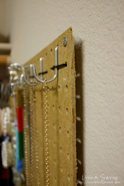 Use Cable Ties To Hold Hooks On Pegboard Tip Amp Tricks