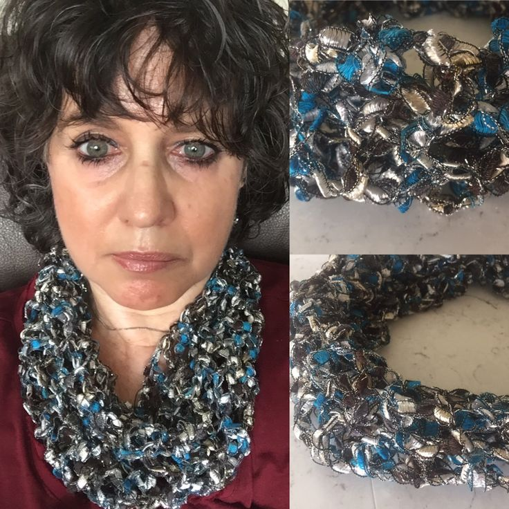 Boutique Ribbons Scarf Tutorial Knitting