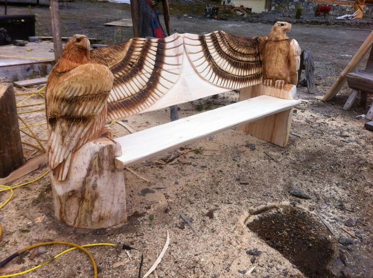 Wood Carving Bench