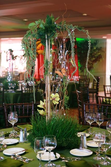 Safari Themed Baby Shower Centerpiece Ideas