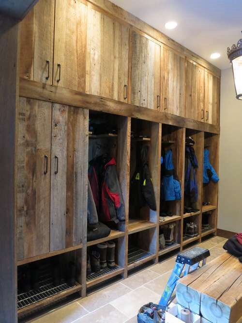 Ski Mud Room Chalet Basement Pinterest Mud Rooms