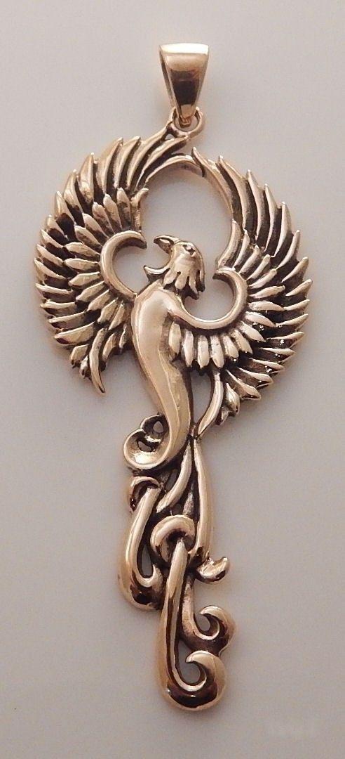 Rising Phoenix Bird Statue