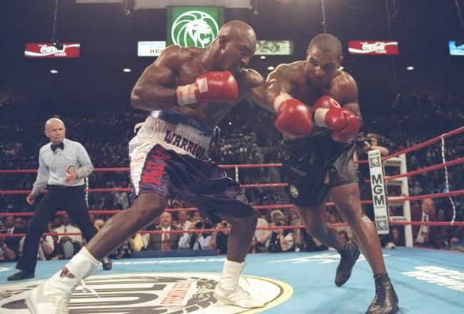 Today Ear Evander Holyfield
