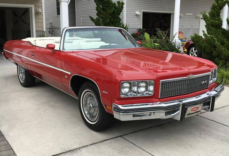 Convertible 22 Impala 1975