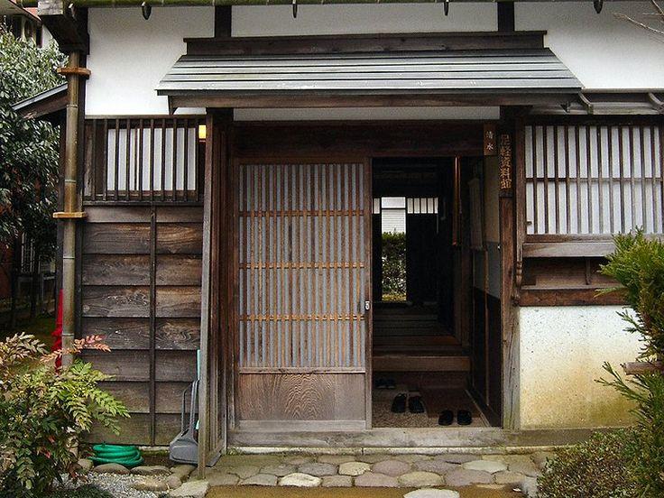 Building Japanese Garden Door
