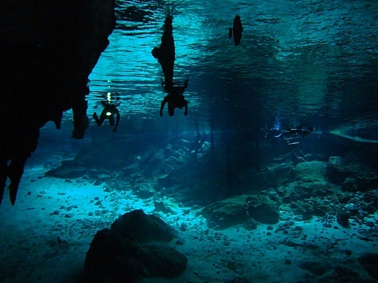 Cancun Mexico Crystal Caves