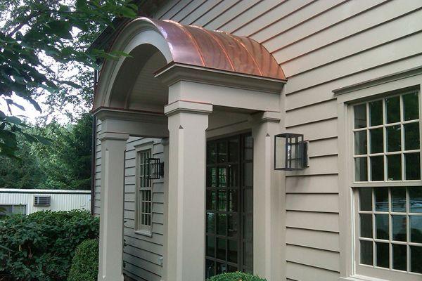 Portico Brick Colonial Home Ideas