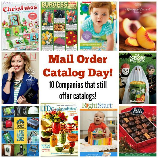 Catalogs List Order Mail