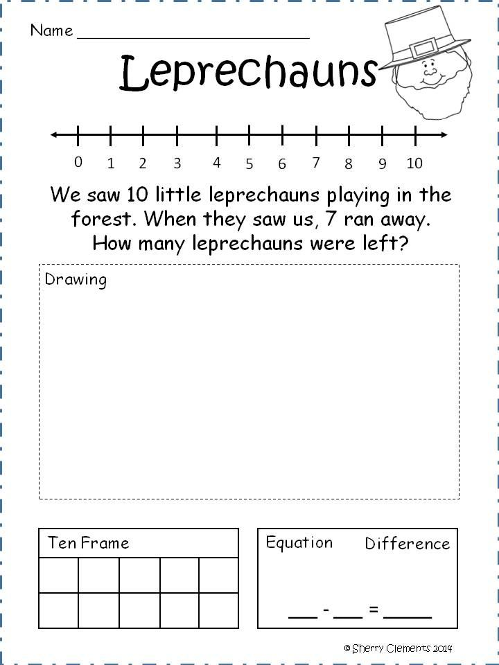 1st Problems Grade Word Math