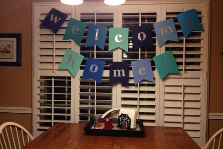 welcome back home ideas for husband archidev