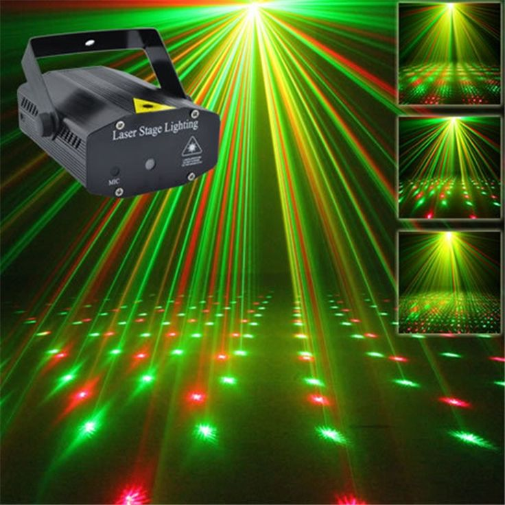 Mini Laser Projector Led Light Show