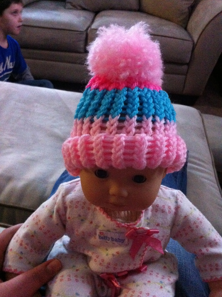 Knifty Knitter Hat With Brim Patterns