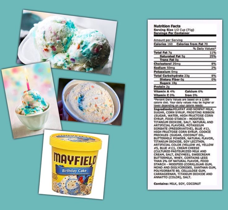 Mayfield Ice Cream Birthday Cake