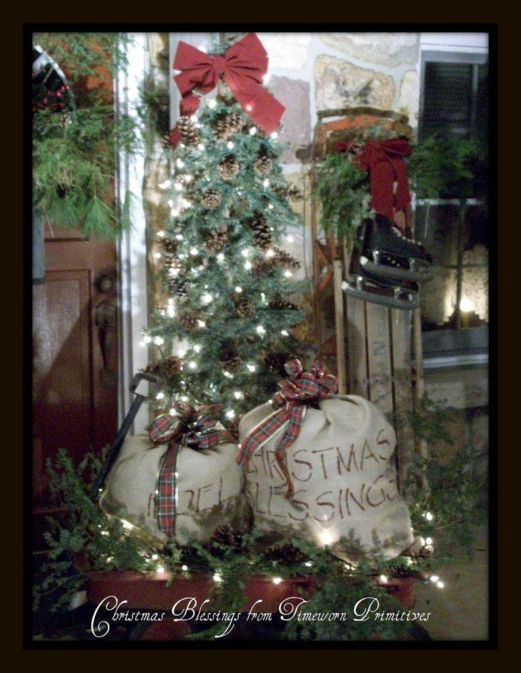 pintrest primitive christmas crafts - Primitive Christmas Crafts