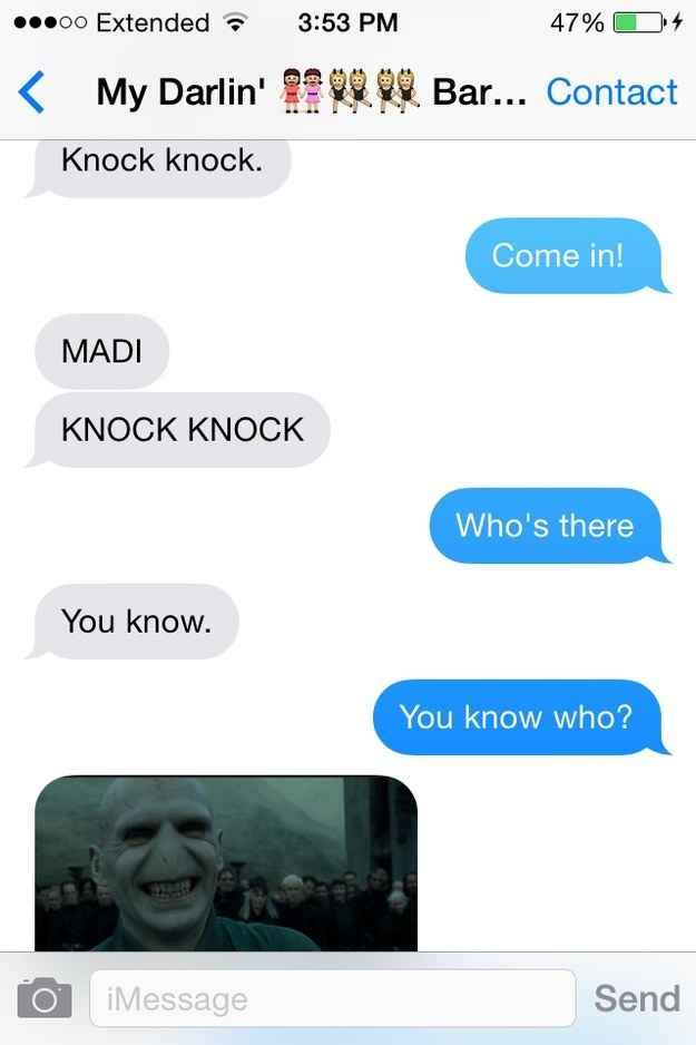 Jokes Potter Harry Knock Knock