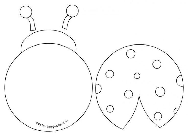 Large Printable Ladybug Pattern