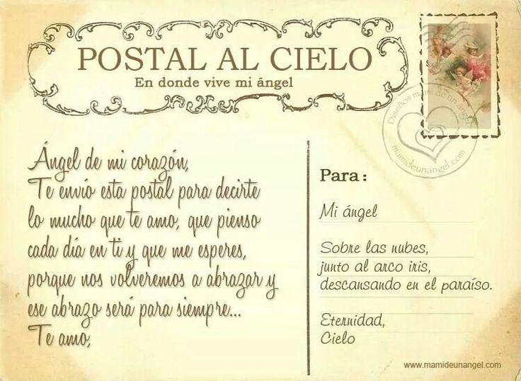 Papa En Cielo Poemas El Esta Para Un Q