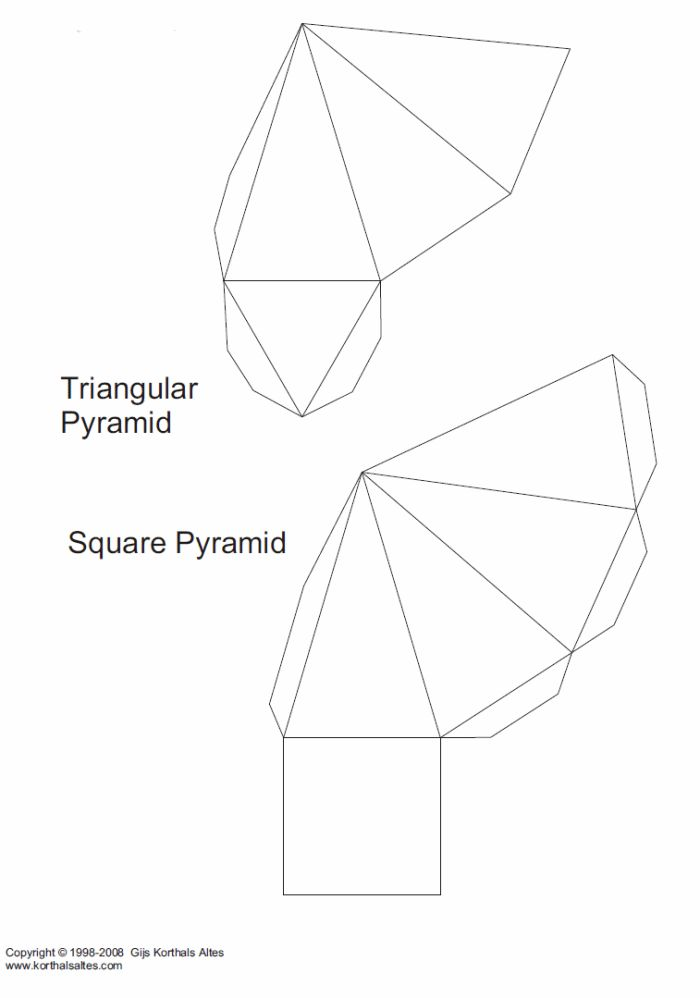 Geometric Solid Templates